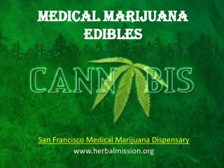 Medical Marijuana Edibles