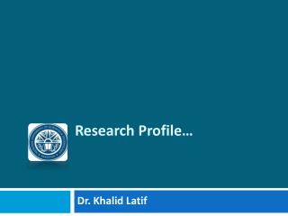 Research Profile…