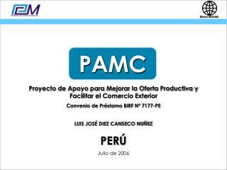 Proyecto de Apoyo para Mejorar la Oferta Productiva y  Facilitar el Comercio Exterior