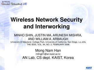 Wireless Network Security and Interworking