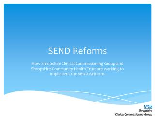 SEND Reforms