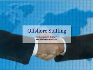Offshore staffing and its advantages