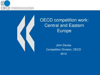 OECD competition work: Central and Eastern Europe