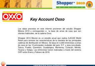 Key Account Oxxo