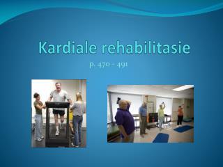 Kardiale rehabilitasie