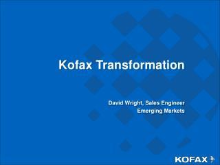 Kofax Transformation