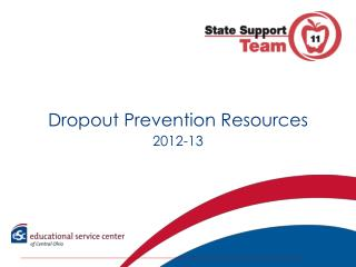 Dropout Prevention Resources 2012-13