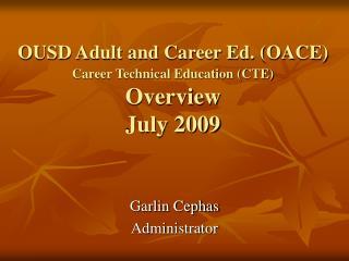 Garlin Cephas  Administrator