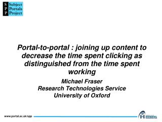 What is a 'portal'?