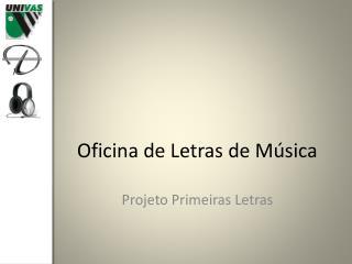 Oficina de Letras de Música
