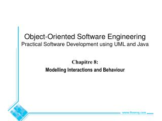 Chapitre 8:  Modelling Interactions and Behaviour