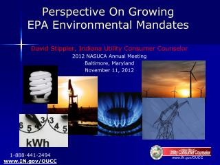 Perspective On Growing  EPA Environmental Mandates