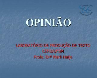 OPINIÃO