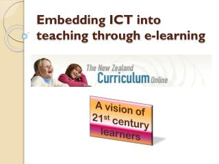 Embedding ICT into teaching through e-learning