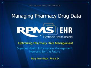 Managing Pharmacy Drug Data