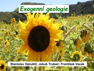 Exogenní geologie