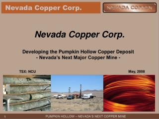 Nevada Copper Corp.