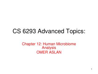CS 6293 Advanced Topics: