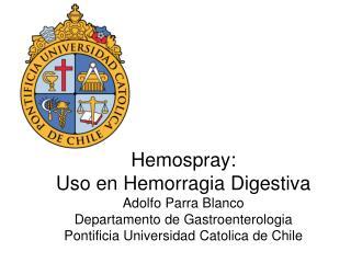 Hemorragia no  varicial :  m�todos endosc�picos