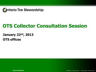 OTS Collector Consultation Session