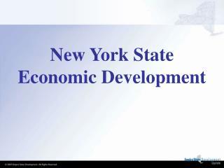 New York State Economic Development