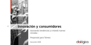 Innovación y consumidores