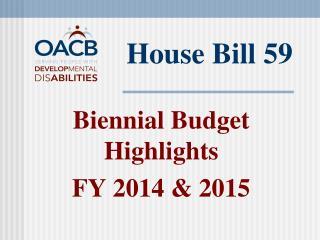 House Bill 59