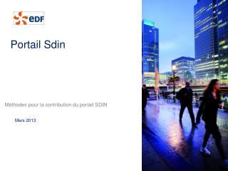 Portail Sdin