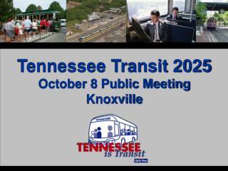 Tennessee Transit 2025 October 8 Public Meeting Knoxville