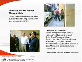 Zarauzko Arte eta Historia Museora bisita