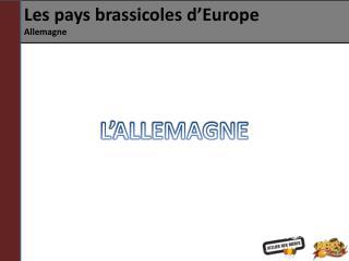 Les pays brassicoles d�Europe Allemagne