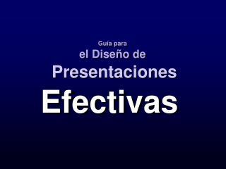 Efectivas