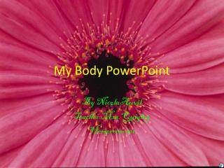 My Body PowerPoint