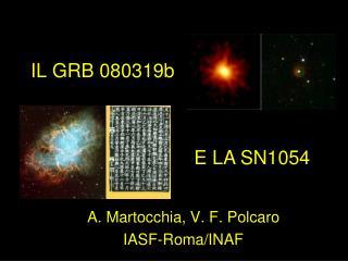 IL GRB 080319b