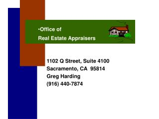 Office of Real Estate Appraisers