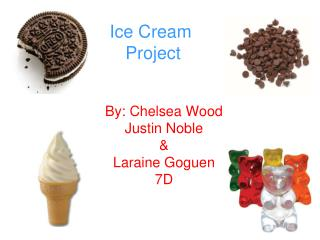 Ice Cream  Project
