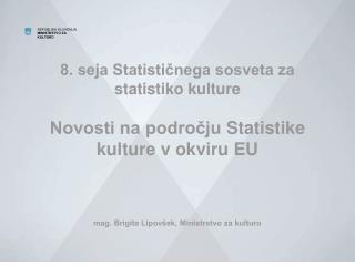 Evropska strategija za kulturo v globaliziranem svetu