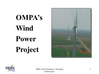 OMPA's Wind Power Project