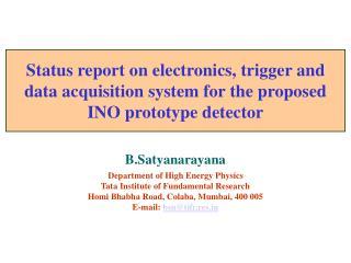INO prototype  detector