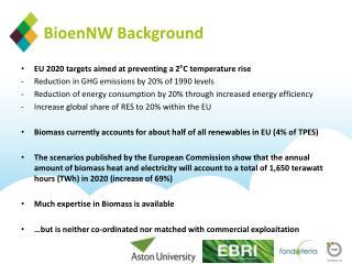 BioenNW  Background