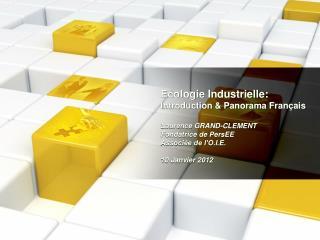 L'écologie industrielle  en 4 mots