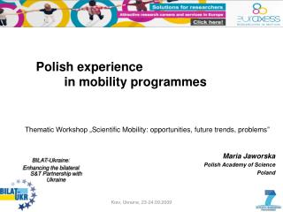 Polish experience in mobility programmes