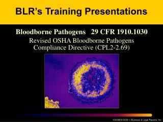 BLR�s Training Presentations