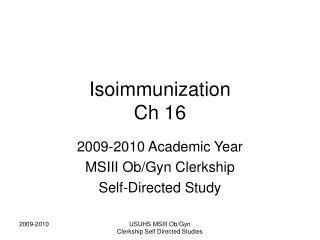 PPT - Rh Isoimmunization PowerPoint Presentation