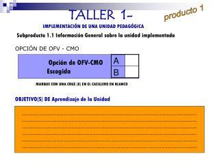 TALLER  1-