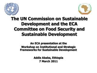 An ECA presentation at the