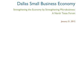 Dallas Small Business Economy
