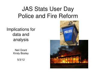 Police reform evidence for change