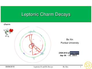Leptonic  Charm Decays