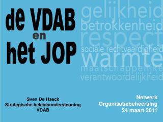 Netwerk Organisatiebeheersing 24 maart 2011